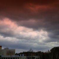 Тучи над городом встали . :: Мила Бовкун