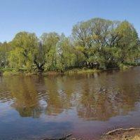 Слияние двух древних русских рек - Полисти и Порусьи. :: Sergey Serebrykov