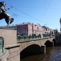 Аничков мост. Питер :: Наталья