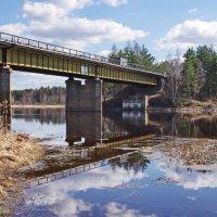 Мост через реку. :: Ирина Нафаня