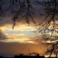 вечер за окном :: Александр Прокудин