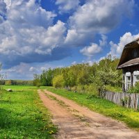 Весна.  Околица. :: Валера39 Василевский.