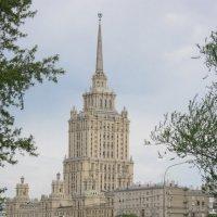"""Москва. Высотная гостиница """"Украина"""" :: Дмитрий Никитин"""