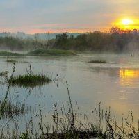 Туман на реке :: Бронислав Богачевский