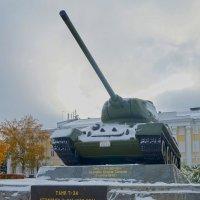 Легендарный танк Т-34 :: Elena Izotova