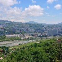 Вид на город с горы Пасечная (Донская) :: Tata Wolf
