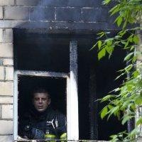 Пожар на юге Москвы :: Алина Ясмина (J.D.-Ray)
