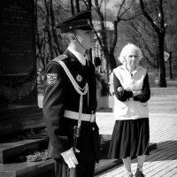 Почетный караул. :: Евгения Кирильченко