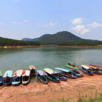 Озеро в окрестностях Далата.Вьетнам. :: Татьяна Калинкина