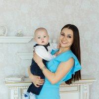 """Мама и любимый сыночек :: Первая Детская Фотостудия """"Арбат"""""""