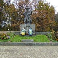 Памятник  Тарасу  Шевченко  в  Моршине :: Андрей  Васильевич Коляскин