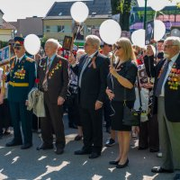 Бессмертный полк в Клайпеде (Литва) :: Леонид Соболев