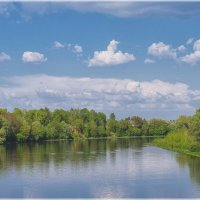 река Неман, цвет :: Andrei Naronski