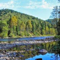 На  реке Тумуяс :: Сергей Чиняев