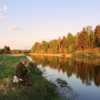 Вечерняя рыбалка :: Павлова Татьяна Павлова