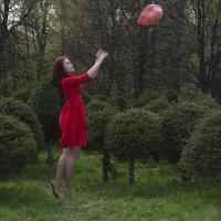 В след за красным шариком :: Марина Мудрова