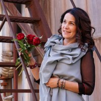 Женщина с цветами :: Андрей Майоров