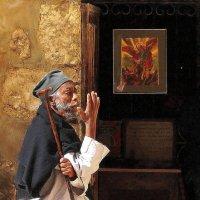 У Храма Гроба Господня...Эфиопский придел. :: Рустам Илалов