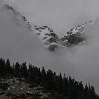 Горы на Иссык-Куле :: Людмила Синицына