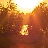 золотой закат :: Анастасия