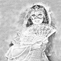 Венецианская маска :: Анна Хохлова