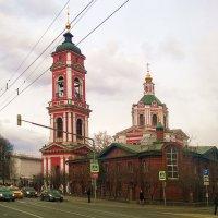 Вид на Вознесенскую церковь :: Николай Дони