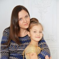 Марина с Настей :: Вероника Полканова