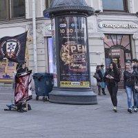 Не убий (апрельским вечером на Невском) :: Владимир Фомин