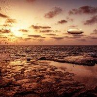 Sunset zeppelin :: Yuri Shepelev