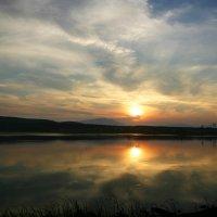 Тихий вечер на озере Тунайча. :: Николай Карандашев