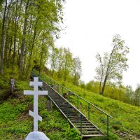 проход к Наровчатскому пещерному мужскому монастырю :: Petr Popov