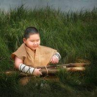 Маленький монах :: Евгения Малютина