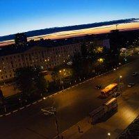 Закат над городом :: Елена Васильева