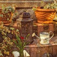 В саду :: Надежда
