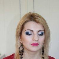 Вечерний праздничный макияж (моя работа) :: Мария Кожевникова
