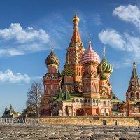 Красивый собор на Красной Площади :: Юлия Батурина