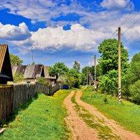 Далекая  деревня.. :: Валера39 Василевский.