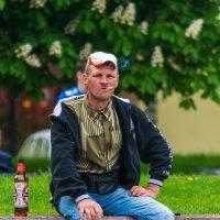 Болельщик на спортивном празднике :: Леонид Соболев