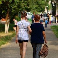 Два поколения :: Светлана