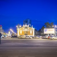 Главная площадь Новосибирска... :: Сергей Смоляков