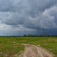 Будет дождик. :: Виктор ЖИГУЛИН.