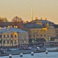 над Меншиковским дворцом :: Елена