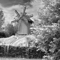 Старая ветряная мельница. :: Андрий Майковский