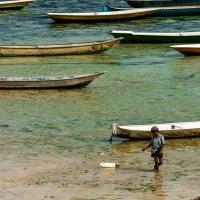 Юный рыбак :: Евгений Грязнов