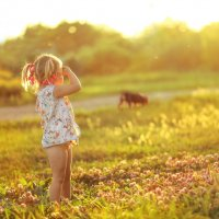 Ребенок становится счастливым, как только ощущает к себе искреннюю и бескорыстную любовь :: Ольга Халанская