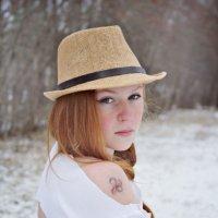 Девушка в шляпе. :: Ann Proskurnina