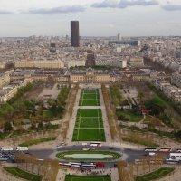Вид на Париж с Эйфелевой башни. :: Ольга