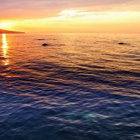 рассвет над морем :: valeriy g_g