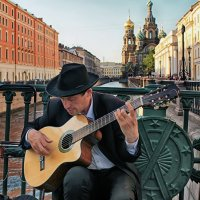 Уличный музыкант :: Валентин Яруллин
