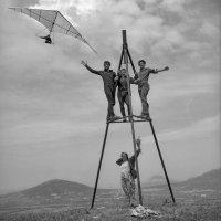 Полёты на горе Юца. :: Ol Star